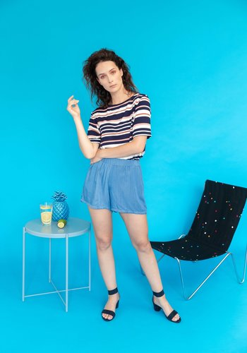 Ayla Striped Tee