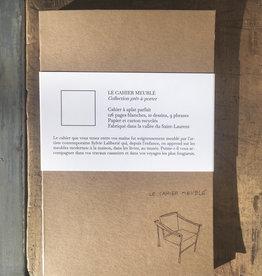 Scribe Le cahier prêt-à-porter (deux options)