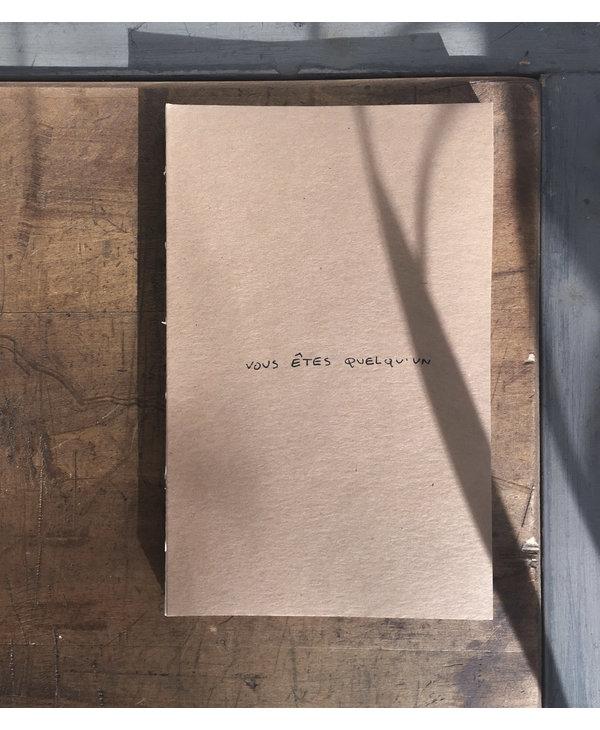 Le cahier prêt-à-porter (deux options)