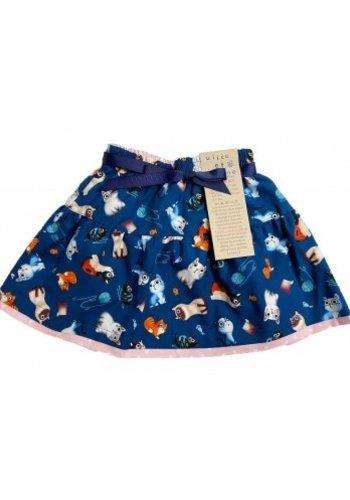 Reversible Cat Skirt