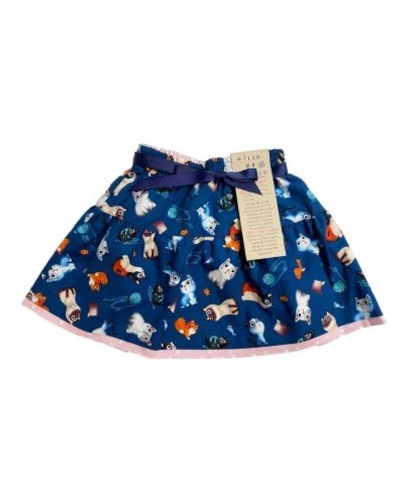 Alice & Simone - Reversible Cat Skirt