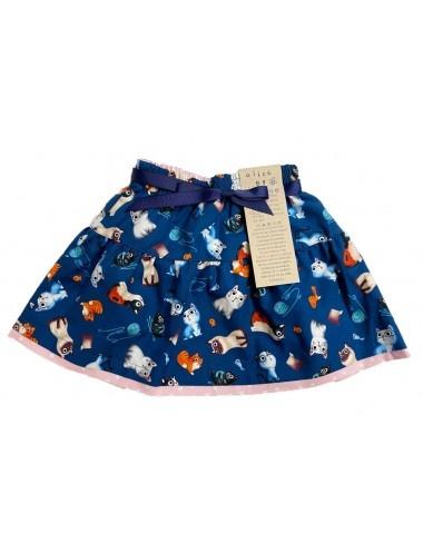 Alice & Simone Alice & Simone - Reversible Cat Skirt
