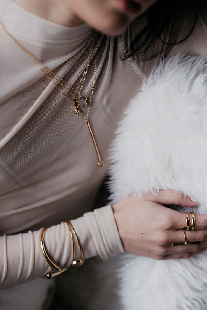 Sarah Mulder Jewelry Stargazer necklace