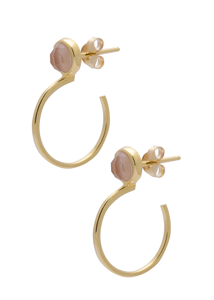 Sarah Mulder Jewelry Ignite Small hoops