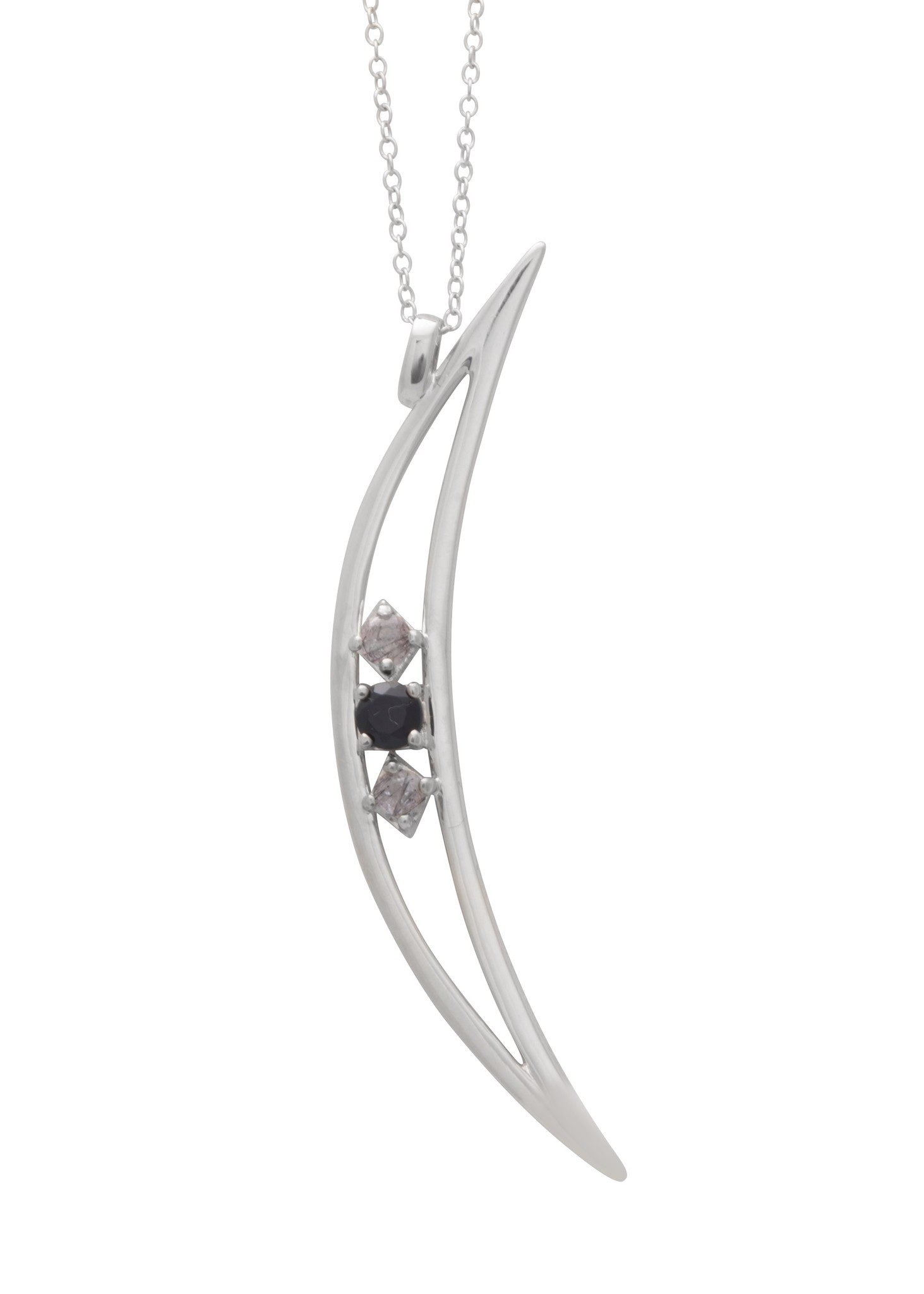 Sarah Mulder Jewelry Collier crescent moon