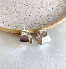 La Manufacture Suzanne hoop silver