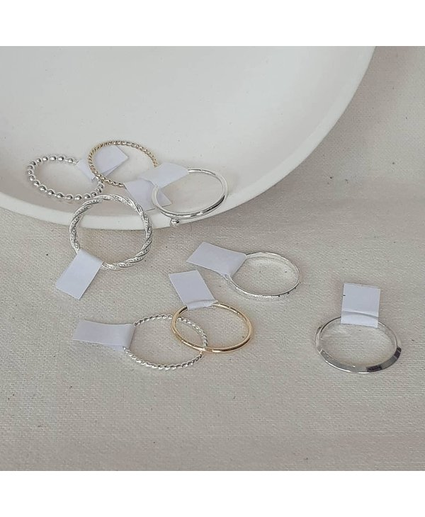 Rings - Many options!
