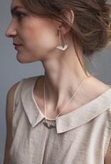 La Manufacture Delta earrings bronze