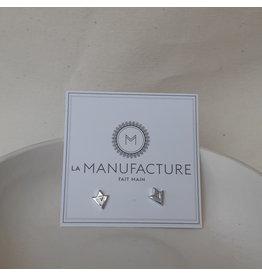 La Manufacture Studs Diamant