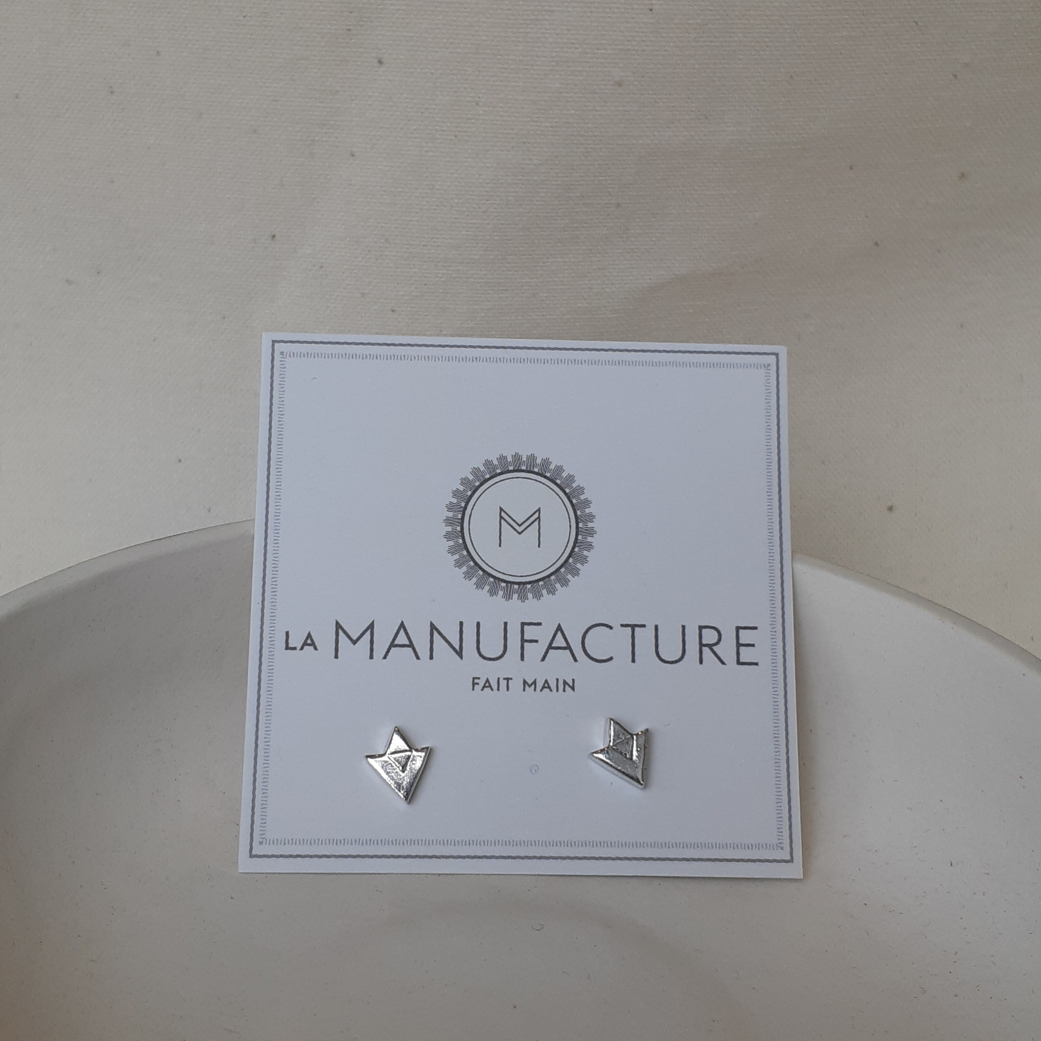La Manufacture Studs Diamonds