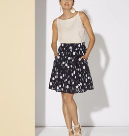 Cherry Bobin Hibiscus Skirt