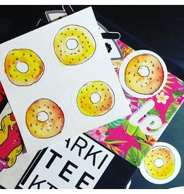 Arkiteektur Bagel Stickers