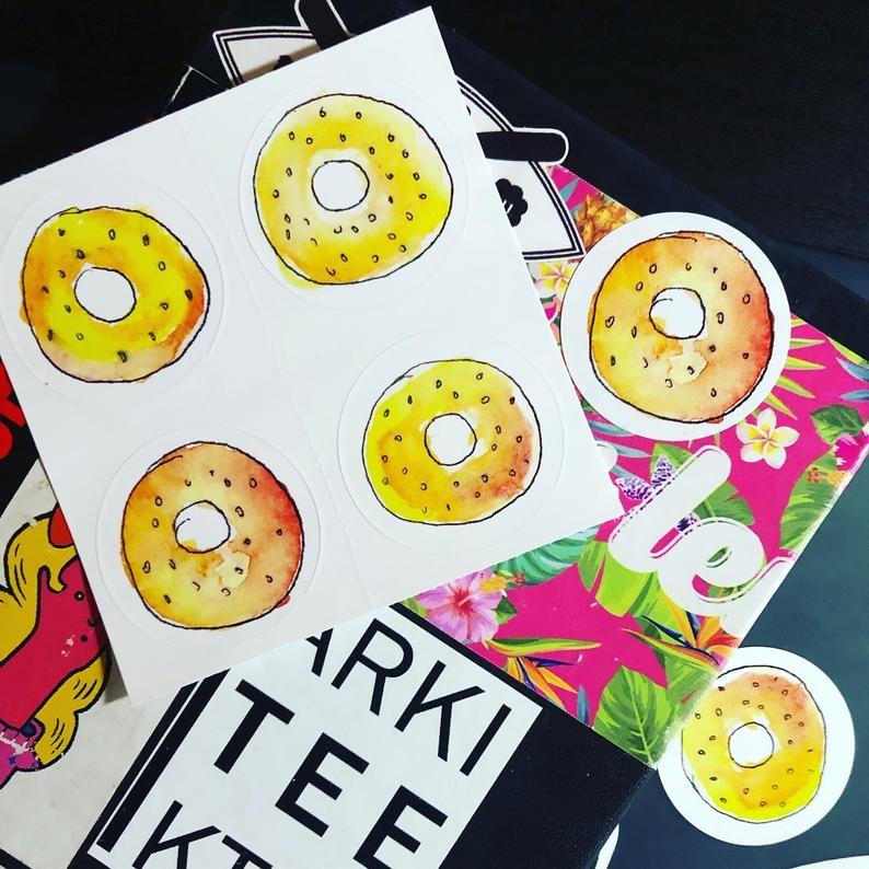 Arkiteektur Bagel Stickers