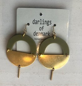 Darlings of denmark Boucle d'oreilles Huuve