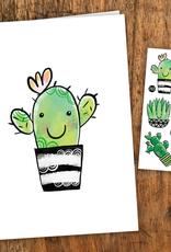Pico tatoo Carte Cactus - Tatoo inclus