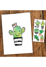 Pico tatoo Cactus Card - Tattoos included