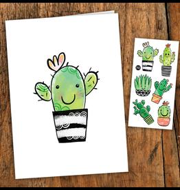 Pico tatoo Cactus Card