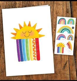 Pico tatoo Rainbow card - tattoos included