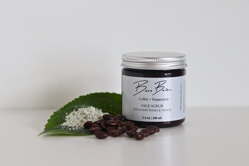 Bees Butter Coffee Peppermint Scrub