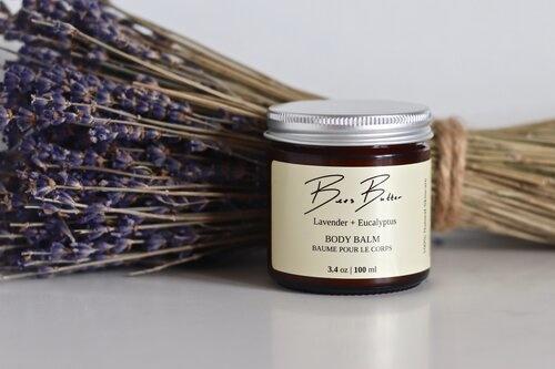 Bees Butter Baume hydratant pour le corps eucalyptus et lavande