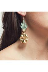 This Ilk Pineapple Earrings