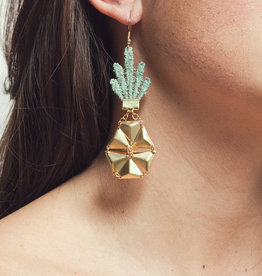This Ilk Boucles d'oreilles Ananas