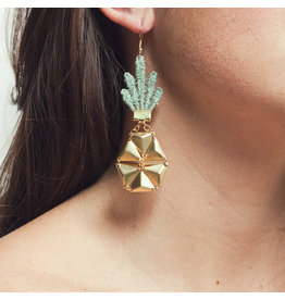This Ilk Pineapple Earrings