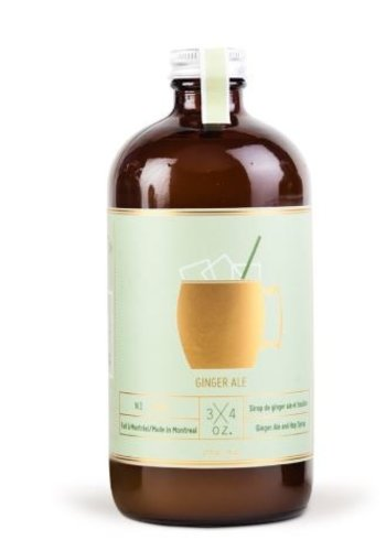 Ginger ale 3/4