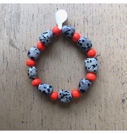 Bracelet perles et pierres