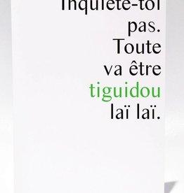 Masimto Tiguidou laï laï Greeting Card
