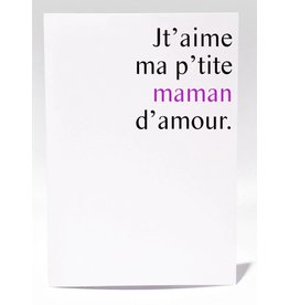 Masimto P'tite Maman d'amour Greeting Card