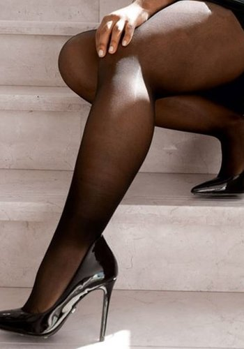 Collants semi-opaque -taille 1X - 3 couleurs