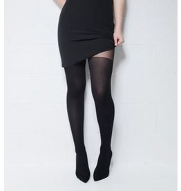 Mondor Motif Tights - Ribbed