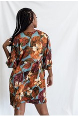 MAS Montreal Mika Bishop Sleeve Dress - 2 colors