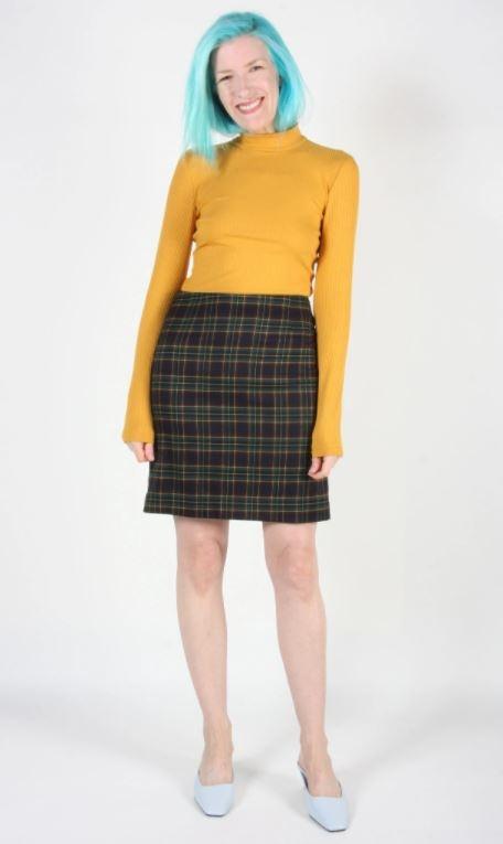 Birds of North America Elepaio Skirt