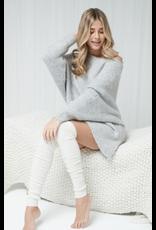 Mondor Bas de réchauffements  en laine mérino, motif côtelé -  2 couleurs