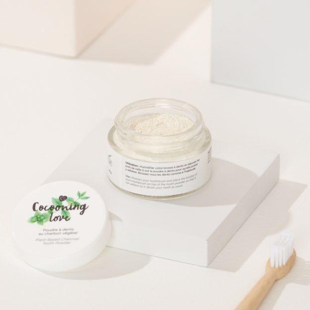 Cocooning love Poudre à dents – Menthe verte