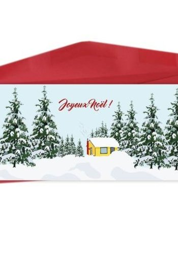 Bilingual greeting cards  - Merry Christmas