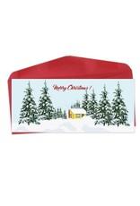 Lili Graffiti CS58 - Bilingual greeting cards  - Merry Christmas
