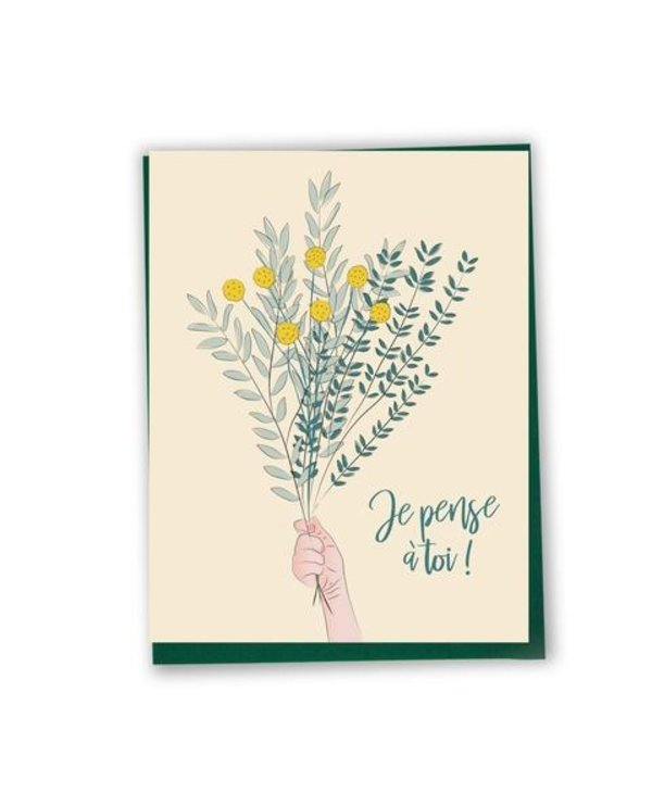 Bilingual greeting cards  - Thinking of you
