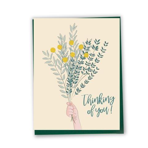 Lili Graffiti Bilingual greeting cards  - Thinking of you