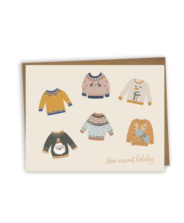 Greeting card - Have a sweet holiday
