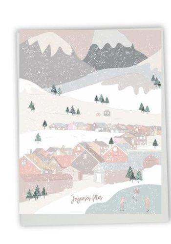 Greeting Card - Joyeuses Fêtes