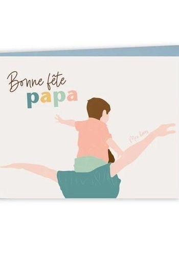 Carte - Bonne fête papa