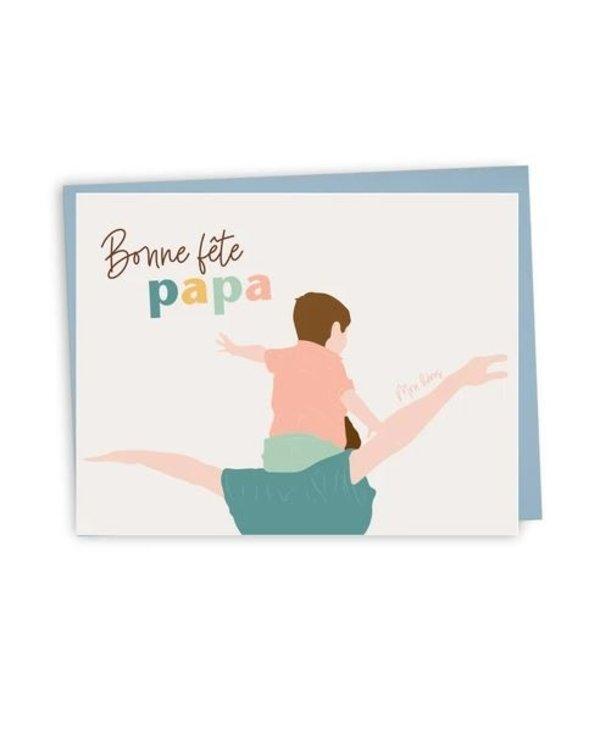 Card - Bonne Fête Papa (Fr)