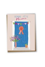 Lili Graffiti Greeting Card - Bonne Fête Maman