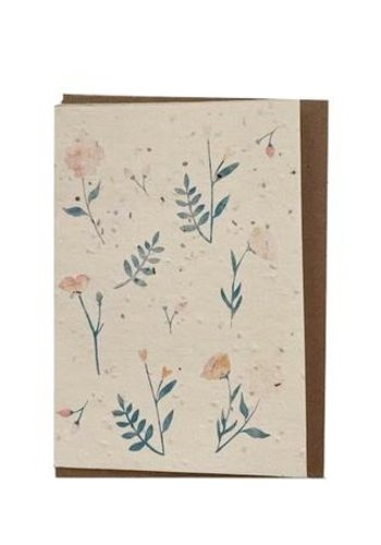 Plantable Seed Card - Flowers
