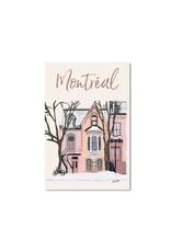 Lili Graffiti Post Card - Plateau House