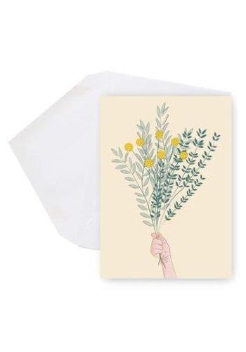 Mini Card - Bouquet