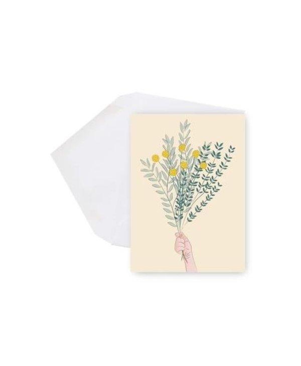 Mini Carte - Bouquet